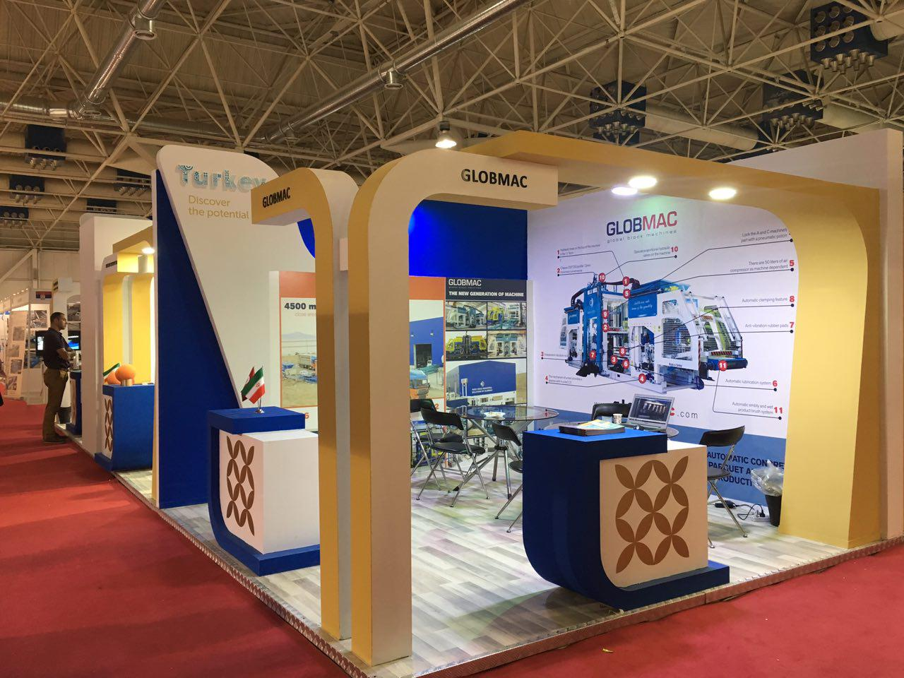 Exhibition Stand Iran : Turkey pavilion project iran yasna group